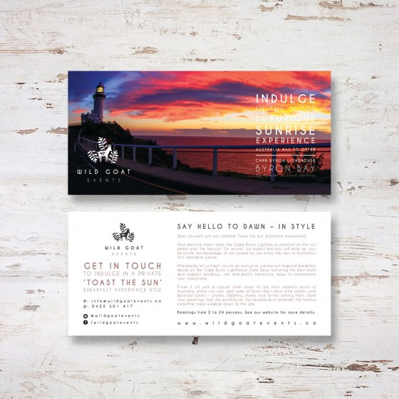 flyer design byron bay